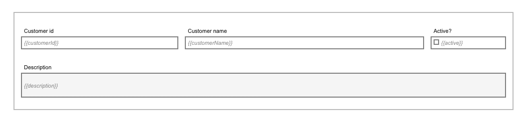 Process User Task Form